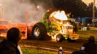 Tractor Pull Fails, Wild Rides, Wrecks, and Fires!!! 2015 Season