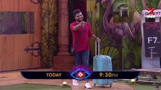 Pradeep Machiraju makes a Grand Entry to the Bigg House 😉  #BiggBossTelugu2 Today at 9:30 PM