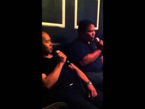 """Singing """"Basta't Kasama Kita"""" at Music Bank, Macapagal 11.16.13"""