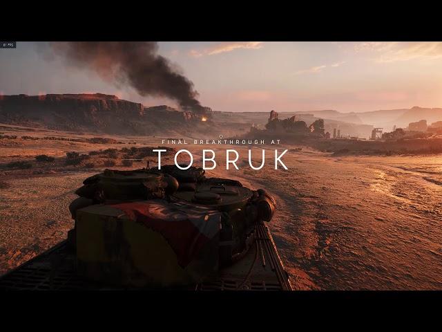 Battlefield V PC Campaign gameplay - Tiger tank segment (prologue)