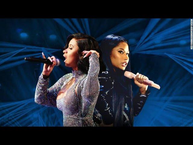 Cardi B, Nicki Minaj - Runnin' (feat. A$AP Rocky, Mike WiLL Made-It) [MASHUP]