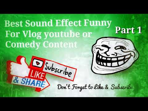 Sound Effect Troll Cartoon Funny Best 2018 Part 1 - Sound Efek Lucu Terbaik 2018