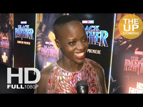 Florence Kasumba Black Panther premiere interview in London