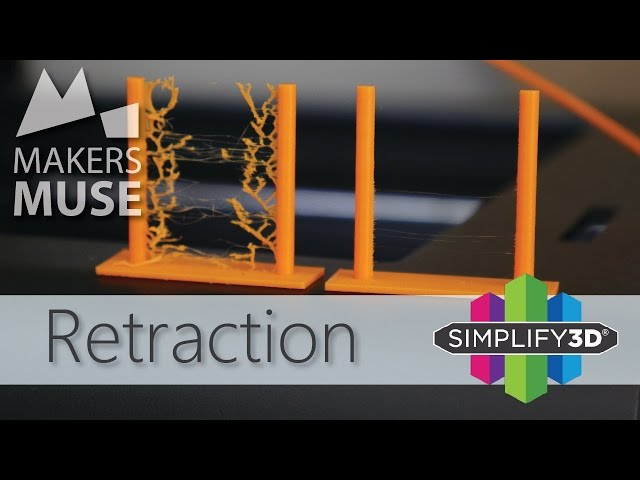 Stop the stringing with Retraction! 3D Printing 101