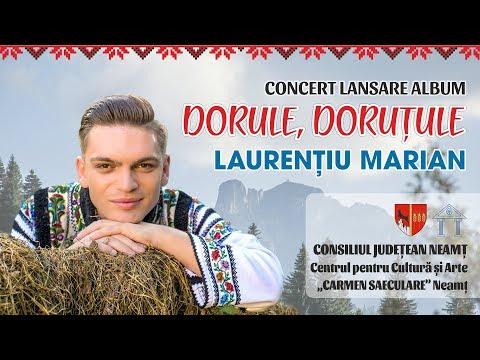 """CONCERT LANSARE ALBUM """"DORULE, DORUŢULE"""" - LAURENŢIU MARIAN"""