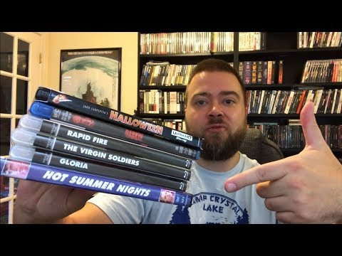 Blu-Ray Collection Update 6 Pickups! Halloween 4K Ultra HD, Horror, Action, Drama