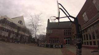 INCREDIBLE Basketball Trick Shots - Auburn, AL