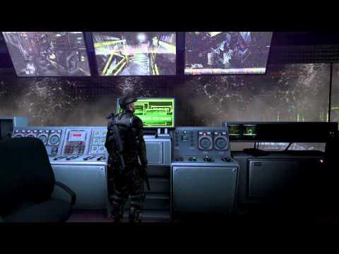 Sam Fisher infiltrates a burning refinery in Splinter Cell: Blacklist demo