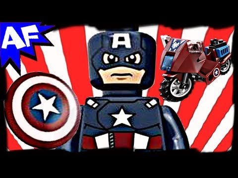 CAPTAIN AMERICA's Avenging Cycle 6865 Lego Marvel Avengers S