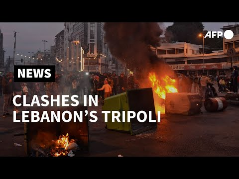 Clashes in Lebanon's Tripoli as anger grows over virus lockdown   AFP