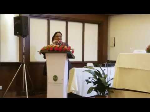 NIF President Ambika P. Poudel's Speech on NEPSE 25th AGM