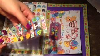 Идея  для личного дневника , смэшбука) день рождения(Привет ) это мое первое видео , поэтому не судите строго ) я знаю обработка не очень да и качество тоже , но..., 2015-02-20T12:48:52.000Z)