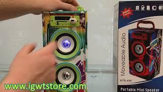 JN-11419-Parlante Bluetooth KTS450