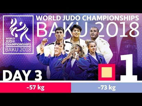 World Judo Championships 2018: Day 3 - Elimination