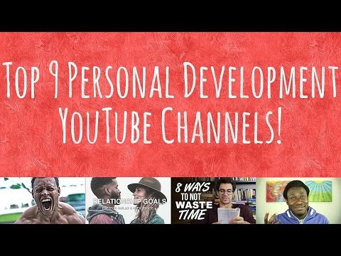 Top 9 Personal Development YouTube Channels | Self Help YouTubers