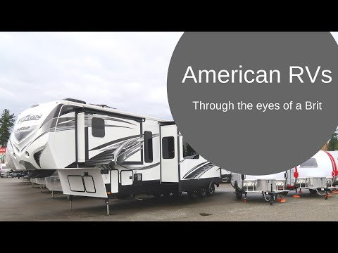 American RVs through the eyes of a Brit