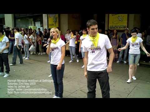 Learn the Hannah Montana Hoedown Throwdown dance...