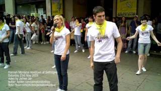 Learn the Hannah Montana Hoedown Throwdown dance (Selfridges in London)