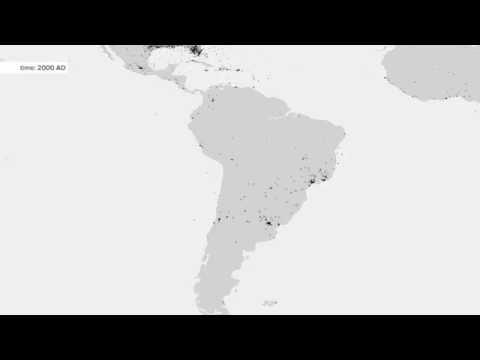 1750 - 2012, South America
