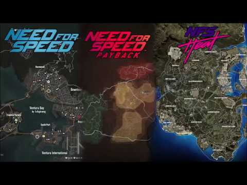 Nfs Heat Vs Nfs Payback Vs Nfs 2015 Map Vergleich Youtube