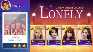 [SuperStar Starship] SISTAR 'Lonely' ? Hard mode All Perfect…