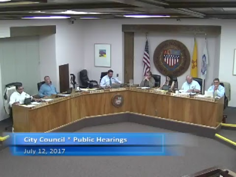 City Council for July 12, 2017