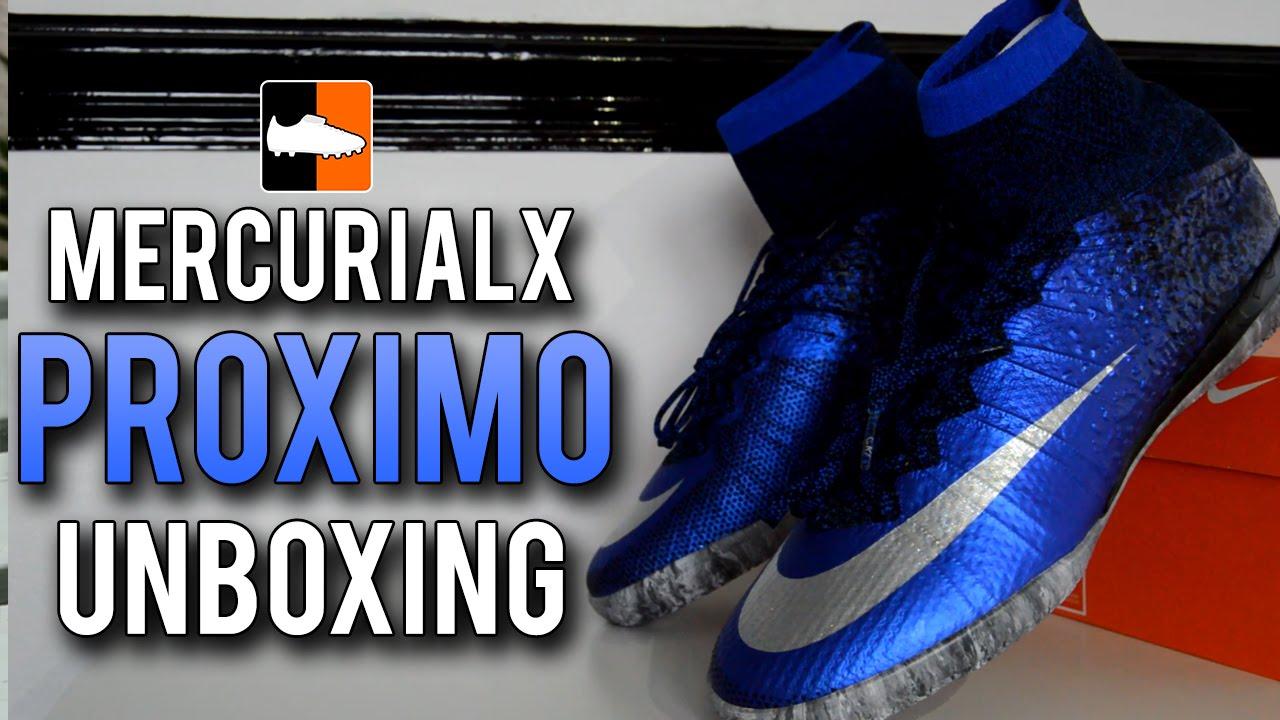 697d268792 ... wholesale cr7 mercurialx proximo unboxing nike natural diamond  cristiano ronaldo football shoes youtube be4cf c0dc5 ...