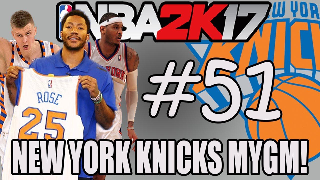 THE YEAR 2060! NBA FINALS GAME 7!! - NBA 2K17 MyGM NEW YORK KNICKS! #51 - YouTube