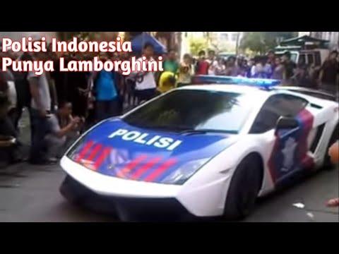 Lamborghini Police Indonesia Kota Tua Jakarta