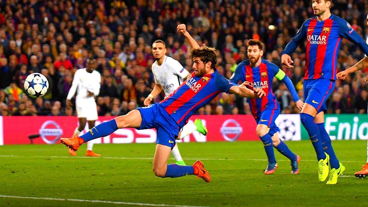 FC BARCELONA VS PSG 6-1 WE WON`T FORGET THIS | БАРСЕЛОНА ...