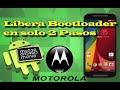 Como Desbloquear Bootloader Motorola Moto G, G2, X, E, E DS en solo 3 pasos Motorola