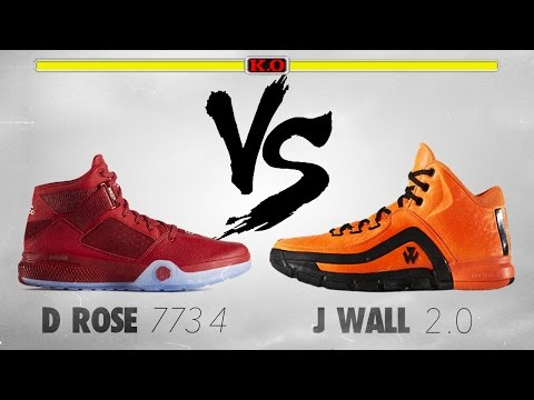 0f9679a4e66c7 Adidas D Rose 773 4 VS Adidas J Wall 2.0! - YouTube