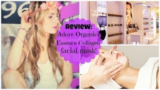 Adore  Essence Facial Collagen Mask Organic Innovation