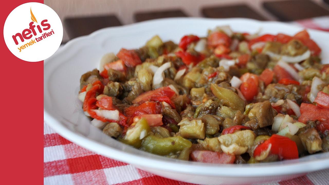 Mamzana Tarifi - Köz Patlıcanlı, Biberli Yoğurtlu Salata Tarifi - Bilik Ailesi