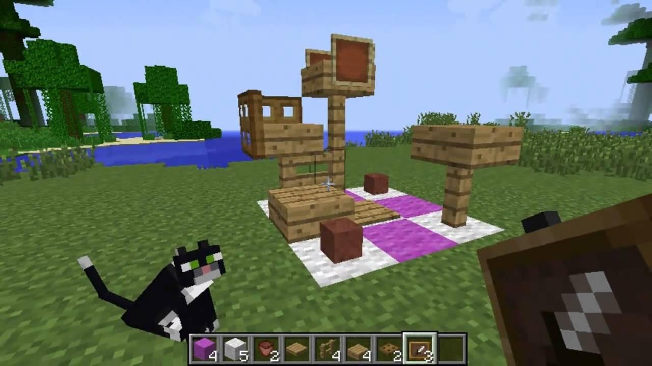 como hacer un parque para gatos minecraft youtube ForPara Desarrollar Un Parque Ajardinado