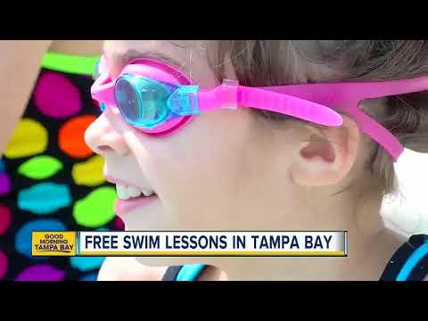 Where to get free swim lessons in the Bay Area