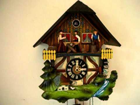 Woodcutters Cuckoo Clock
