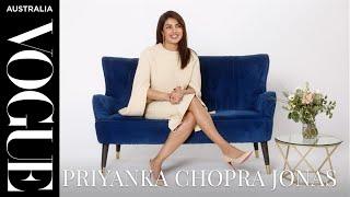 The Secret Behind... with Priyanka Chopra Jonas   Celebrity Interview   Vogue Australia