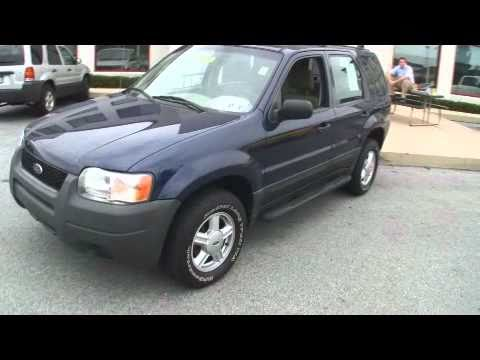 2003 ford escape xls jeff d 39 ambrosio auto group downingtown pa 19335 stock youtube. Black Bedroom Furniture Sets. Home Design Ideas