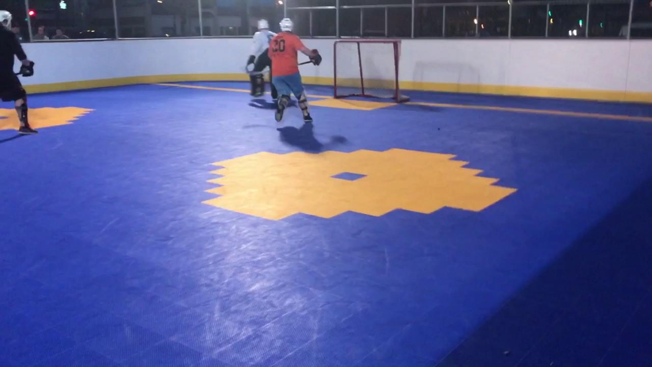 Dek Hockey 2nd Period Waterloo Rage vs Smittys