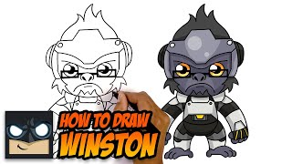 How To Draw Winston | Overwatch