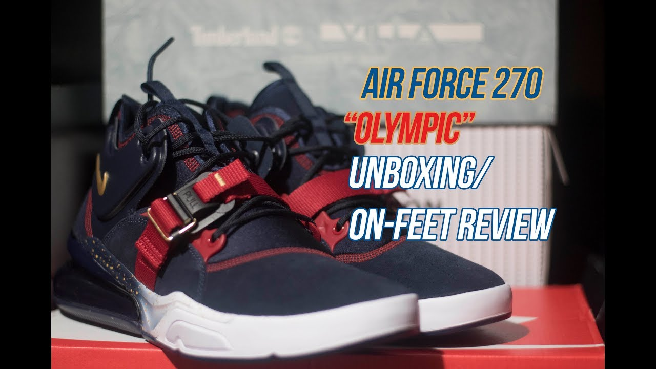 57f75d8917 Nike Air Force 270 'Dream Team/ Olympic' | Solepost Unboxings