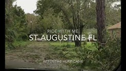 WOW✨ ST AUGUSTINE FL AFTER HURRICANE IRMA