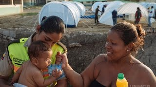 Ecuador: Earthquake Leaves Colombian Refugees Homeless