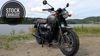 Triumph Bonneville T120 Remus Exhaust