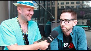 Interview w/ Neal Brennan at JFL w/camera work by Dave Chappelle