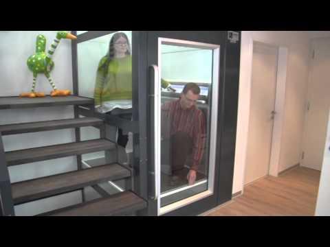 Senkrechtlift Ohne Schacht Für Aussen Und Innen - Meicolift - 062 858 67 00