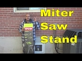 Ryobi Universal Miter Saw Quickstand-Unboxing And Assembly