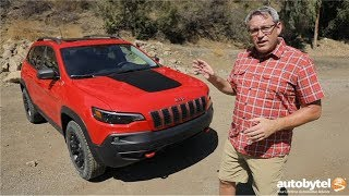2019 Jeep Cherokee Trailhawk 4x4 (with 2.0L Turbo Engine) Test Drive Video Review