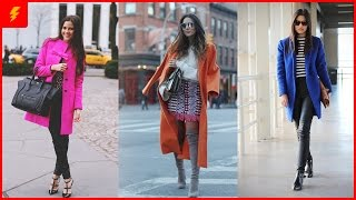 How to Wear a Colorful Coat